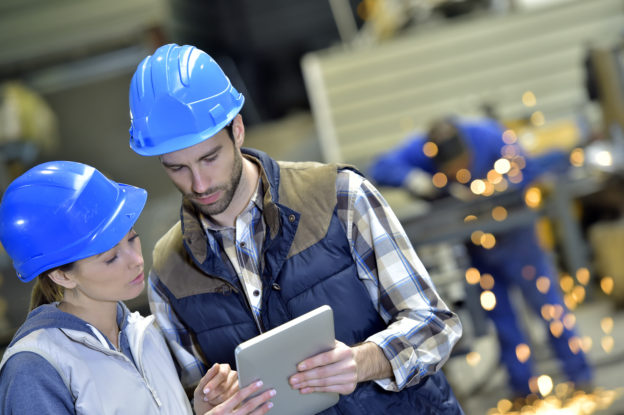 IT support in manufacturing industry