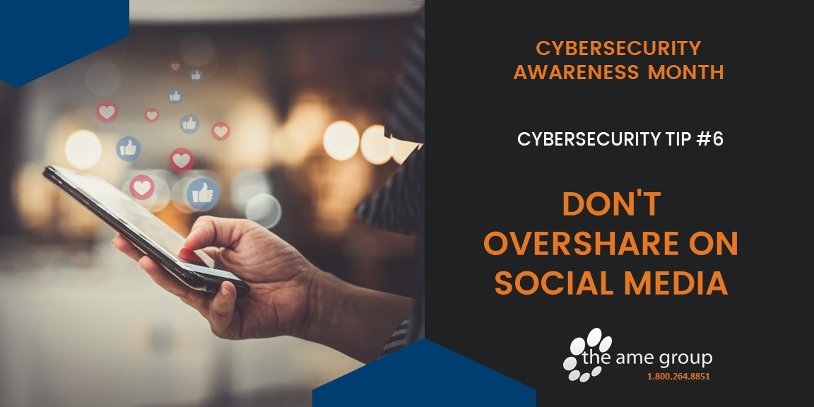 Don't Overshare on Social Media